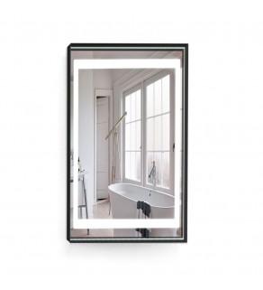 Зеркало с подсветкой Liberta Livo steel 70x90