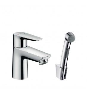 Смеситель для умывальника с гигиеническим душем Hansgrohe Talis E 71729000