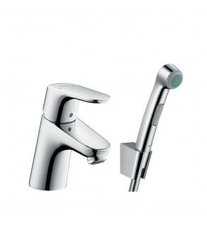 Смеситель для умывальника с гигиеническим душем Hansgrohe Focus 31926000