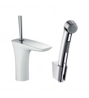 Смеситель для умывальника с гигиеническим душем Hansgrohe PuraVida 15275400